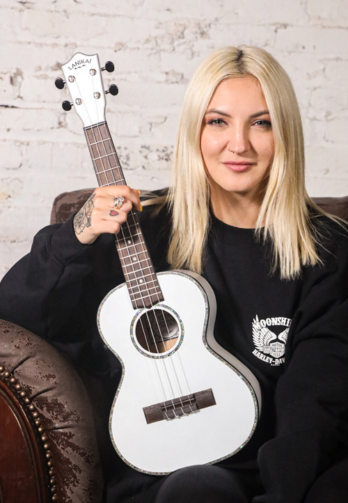 The Julia Michaels Signature Tenor Ukuleles