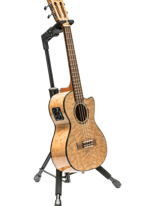 Hercules Offers New Ukulele Stand And Hanger Series