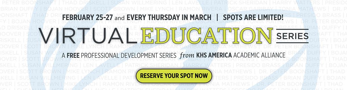 Virtual Education Series