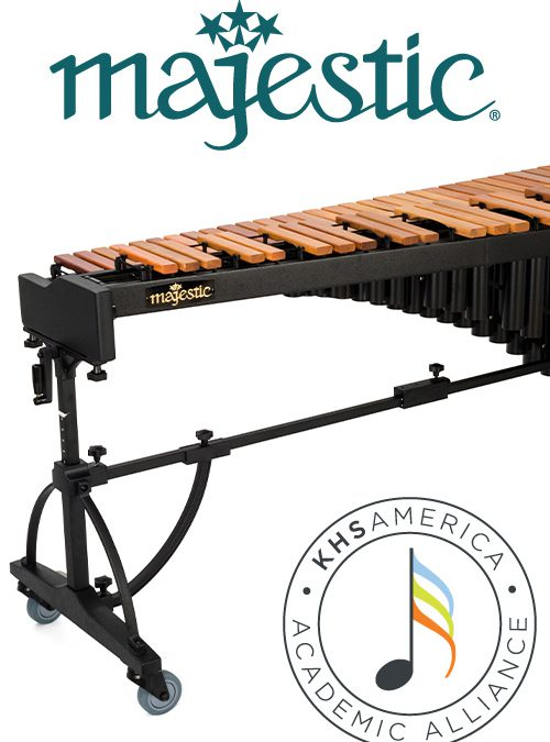 KHS America Academic Alliance & Majestic Percussion Concert Marimba Sweepstakes