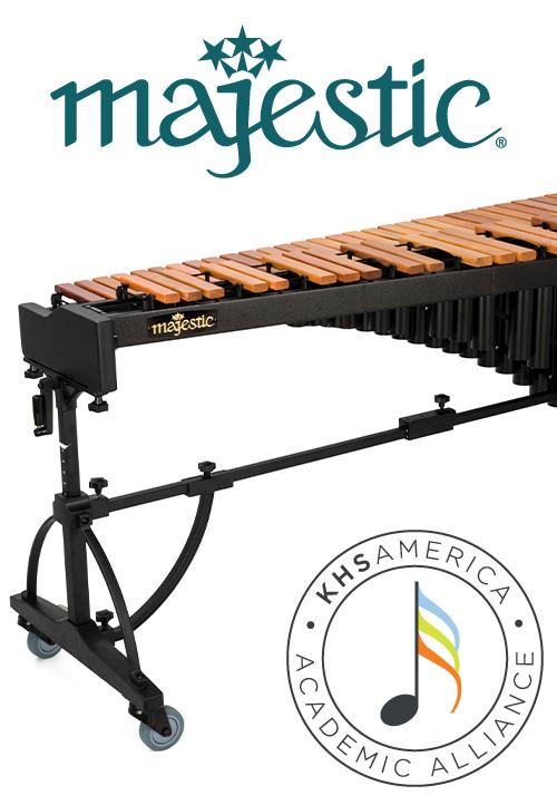 KHS America Academic Alliance & Majestic Percussion Concert Marimba Sweepstakes
