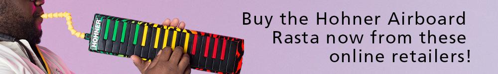 Hohner Airboard Rasta Dealers
