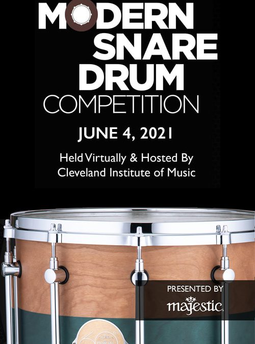 Majestic Percussion to Sponsor the Modern Snare Drum Competition
