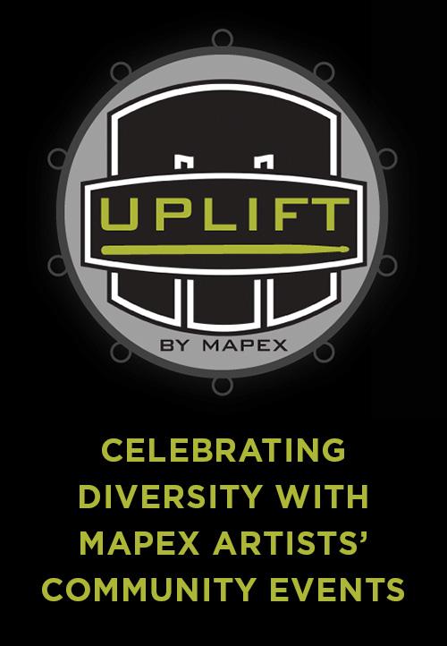Mapex Drums Unveils Uplift Campaign